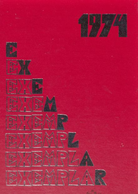 1974 Model Laboratory High School Yearbook Cover