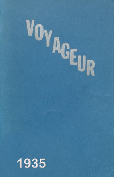 1935 Central Valley High School Yearbook Cover