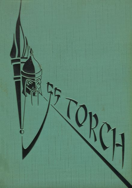 1955 Torrance High School Yearbook Cover
