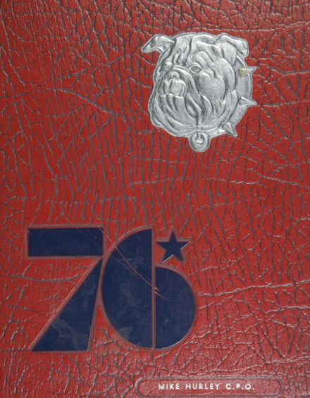 1976 Bentley High School Yearbook Cover
