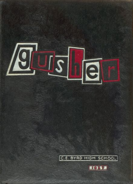1957 Byrd High School Yearbook Cover