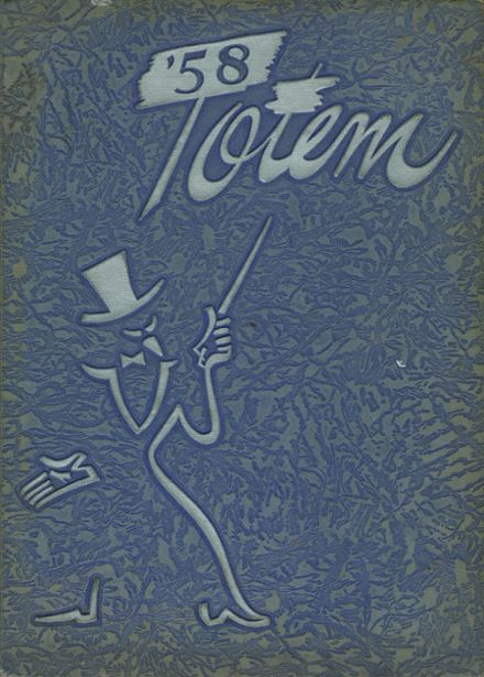 1958 Owatonna High School Yearbook Cover