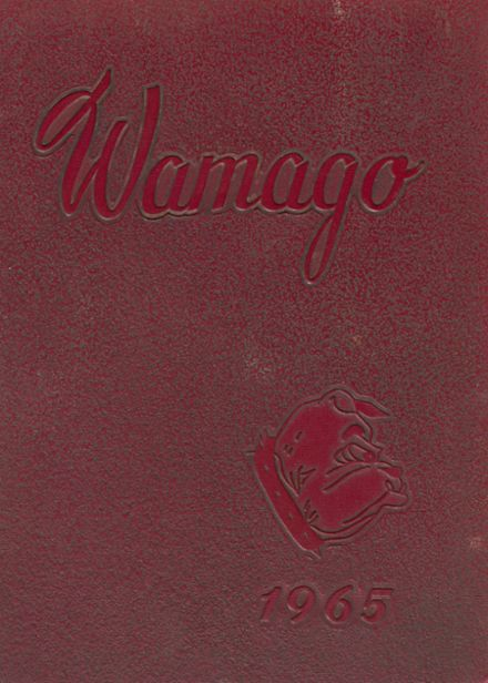 1965 West Allis Central School Yearbook Cover
