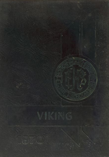 1970 East Hall High School Yearbook Cover