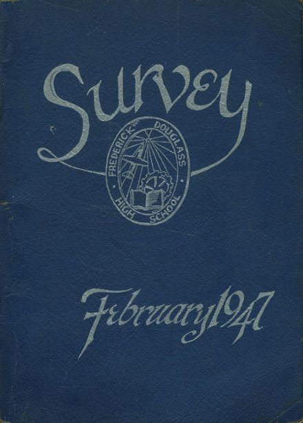 1947 Frederick Douglass High School 450 Yearbook Cover