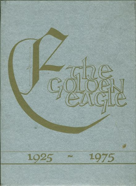 1975 Bell High School Yearbook Cover