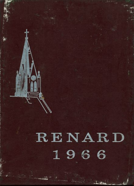 1966 St. Mary Central High School Yearbook Cover