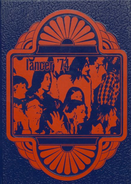 1974 Canby High School Yearbook Cover