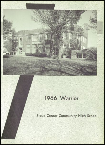 1966 Sioux Center Community High School Yearbook Page 5