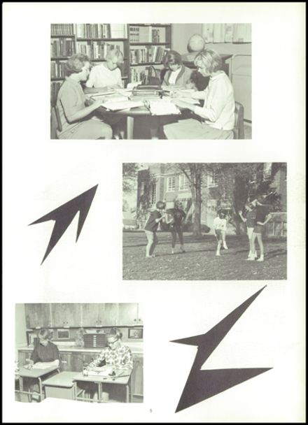 1966 Sioux Center Community High School Yearbook Page 9
