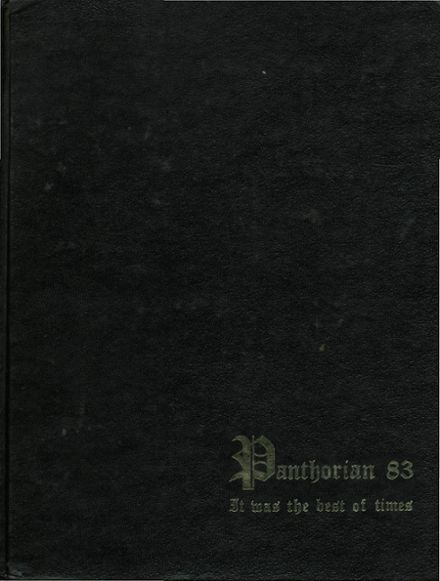 1983 Maryvale High School Yearbook Cover
