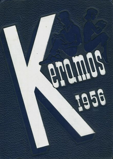1956 East Liverpool High School Yearbook Cover