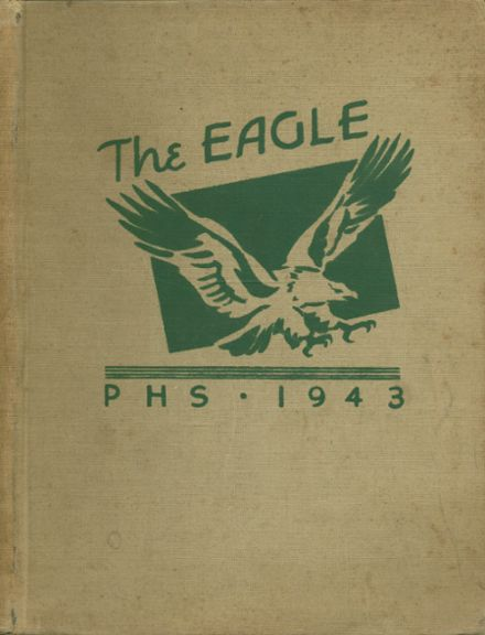 1943 Pleasanton High School Yearbook Page 1