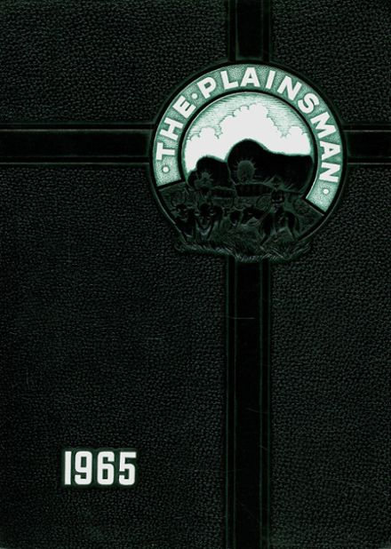 1965 Plainfield High School Yearbook Cover