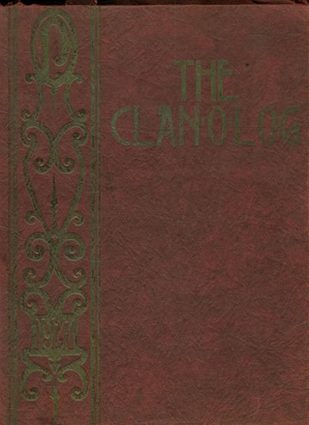 1927 Piedmont High School Yearbook Cover