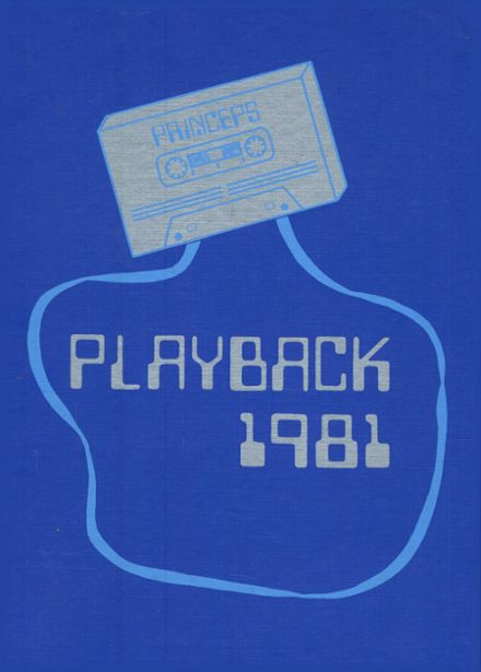 1981 Princeton High School Yearbook Cover