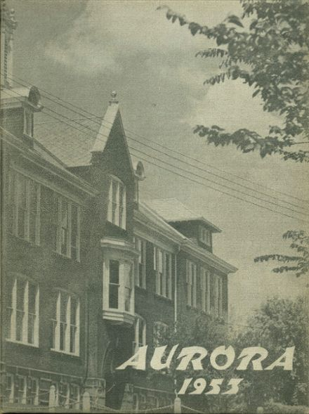 1953 Rice Lake High School Yearbook Page 1