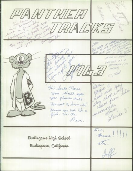 1963 Burlingame High School Yearbook Page 5