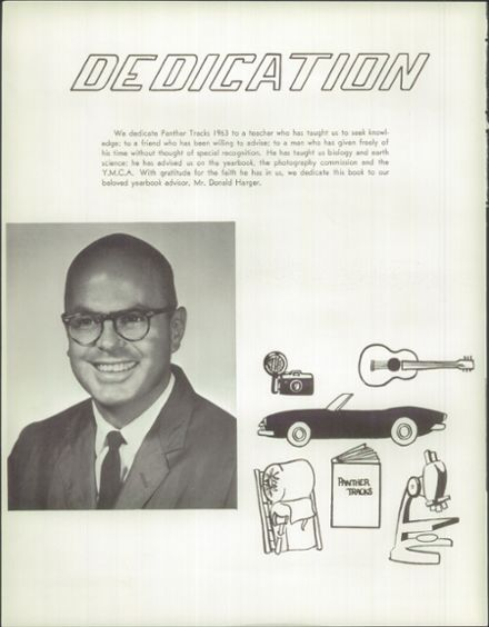 1963 Burlingame High School Yearbook Page 8