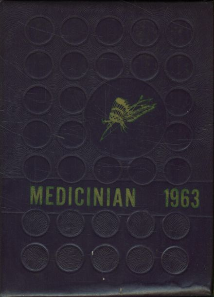 1963 Medicine Lodge High School Yearbook Cover