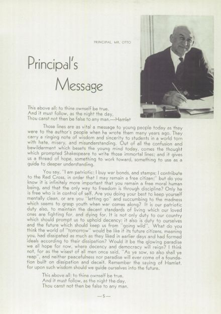 1943 Fresno Technical High School Yearbook Page 9