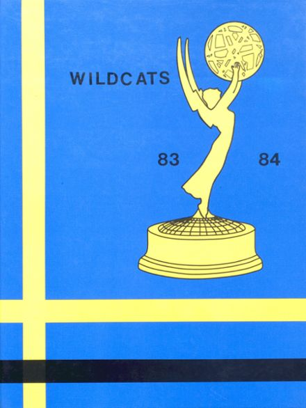 1984 Columbus Community High School Yearbook Cover