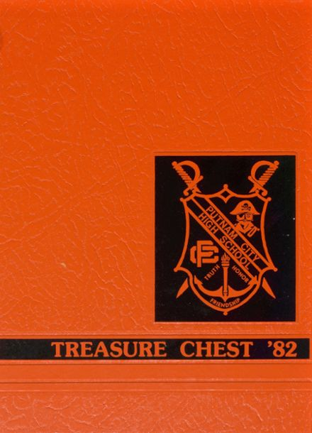 1982 Putnam City High School Yearbook Cover