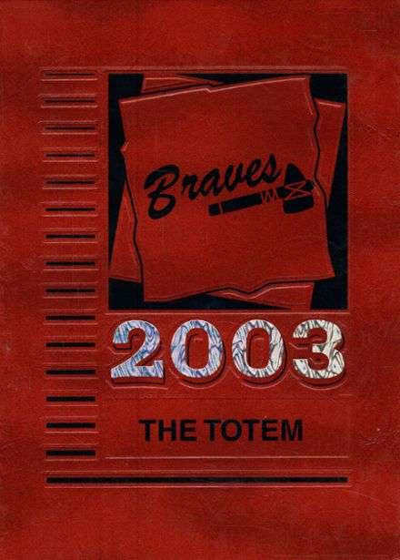 2003 Indian Valley High School Yearbook Cover