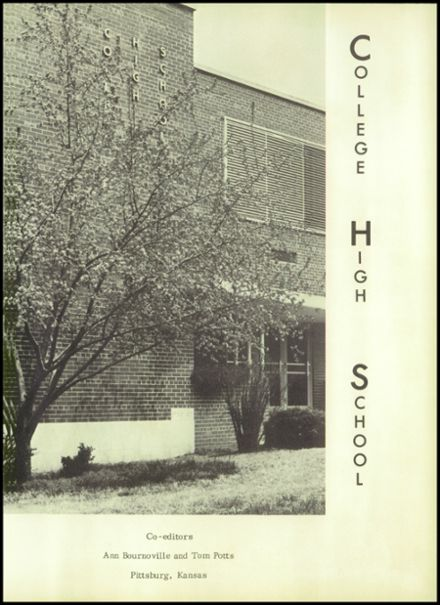 1965 College High School Yearbook Page 5