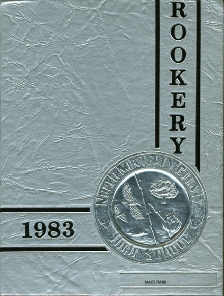 1983 North Monterey County High School Yearbook Cover