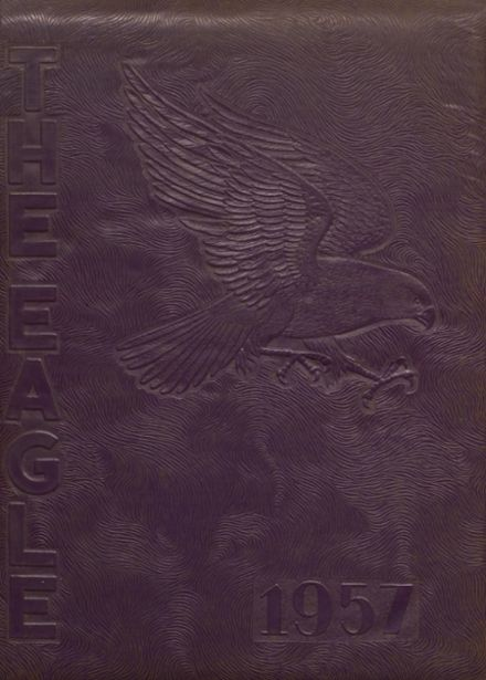 1957 Campbellsville High School Yearbook Cover