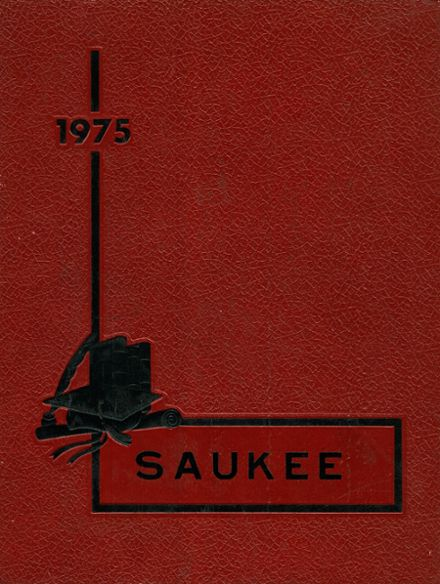 1975 Pittsfield High School Yearbook Cover