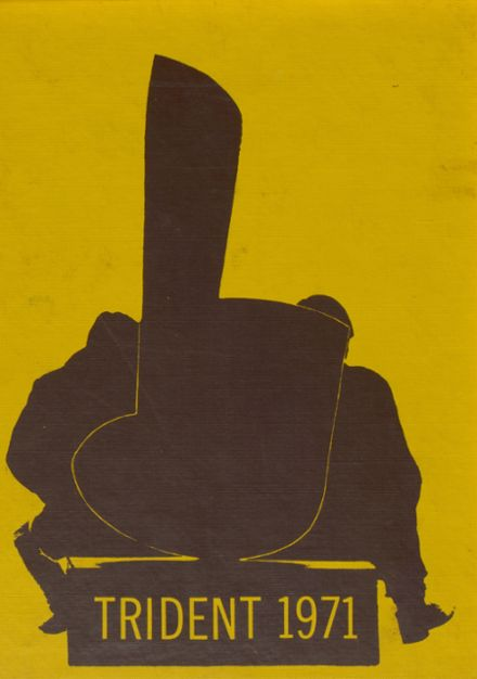 1971 West Lafayette High School Yearbook Cover