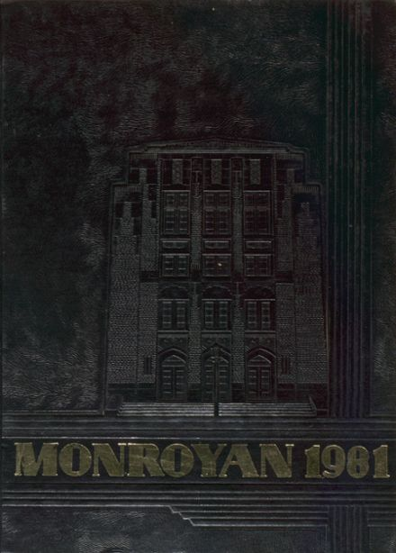 1981 Neville High School Yearbook Cover