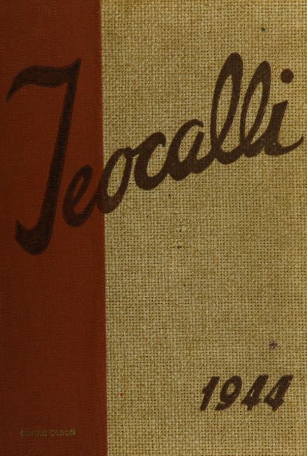 1944 Mark Keppel High School Yearbook Cover