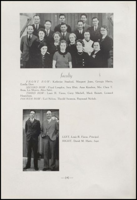 1938 Arlington High School Yearbook Page 8
