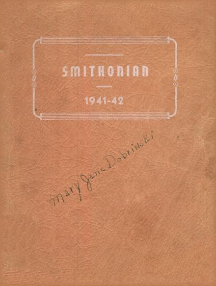 1942 Smithfield High School Yearbook Cover