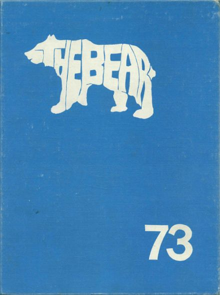 1973 Central Valley High School Yearbook Cover