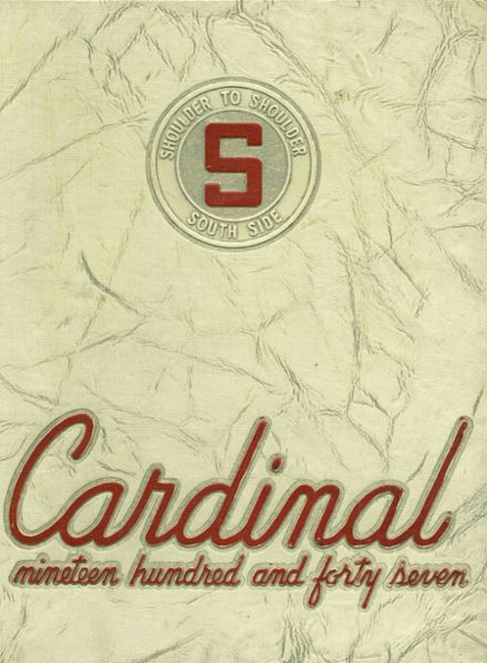 1947 South Division High School Yearbook Cover