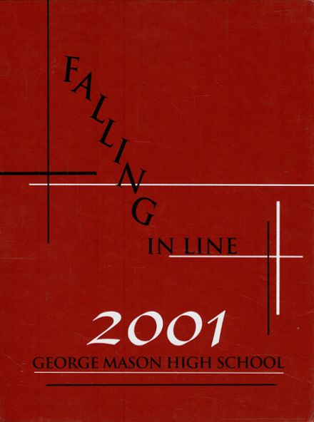 2001 George Mason High School Yearbook Cover