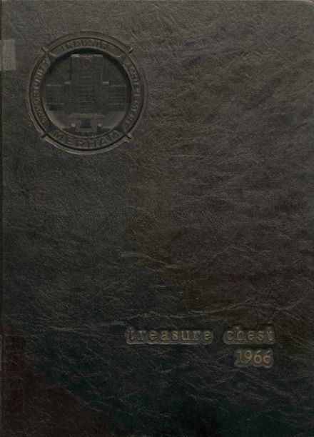 1966 Mepham High School Yearbook Cover