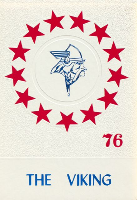 1976 New Miami High School Yearbook Cover