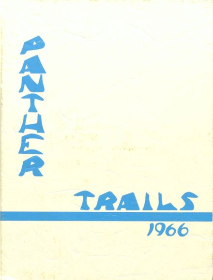 1966 Amphitheater High School Yearbook Cover
