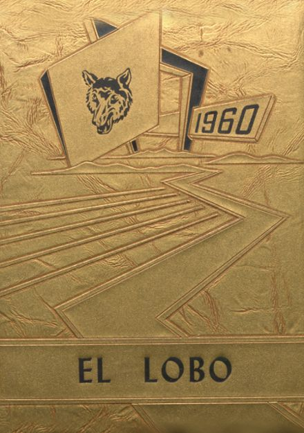 1960 Yarbrough High School Yearbook Cover