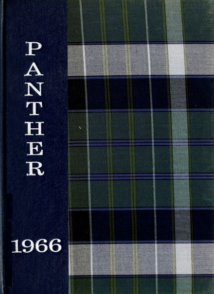 1966 Petroleum High School Yearbook Cover