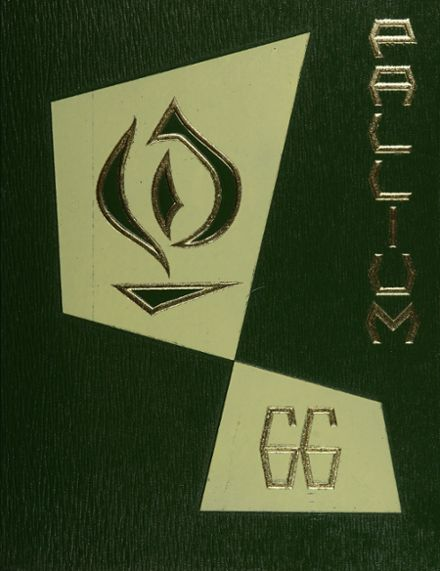 1966 Bishop Conaty Memorial High School Yearbook Cover