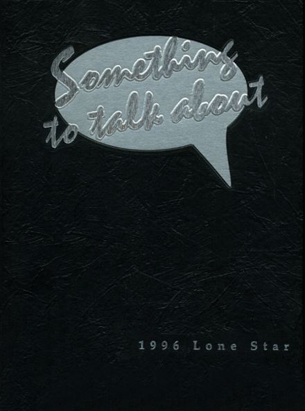 1996 Bowie High School Yearbook Cover