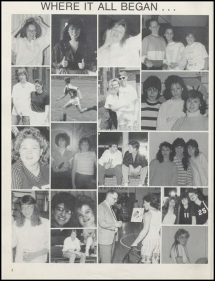 1992 Stillwater High School Yearbook Page 6