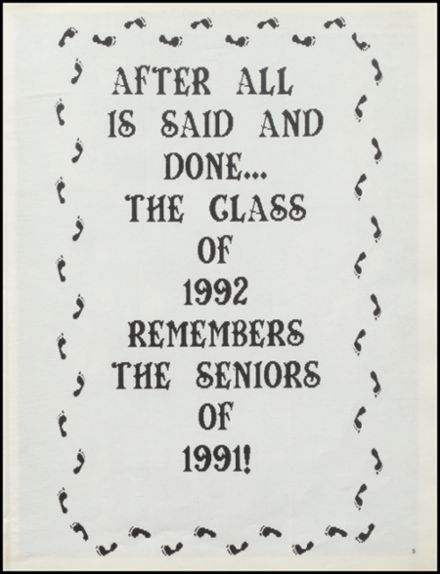 1992 Stillwater High School Yearbook Page 9