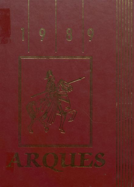 1989 North Valley High School Yearbook Cover